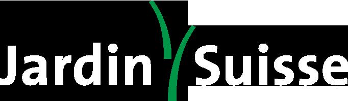 logo jardin suisse weiss